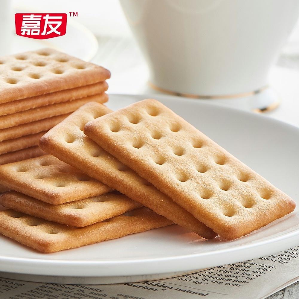 嘉友牛乳饼干原味117g