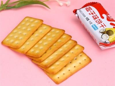 椰奶与牛奶的交响曲——嘉友椰子味饼干