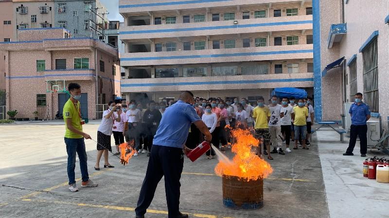 嘉友组织消防演练,提高嘉人消防意识