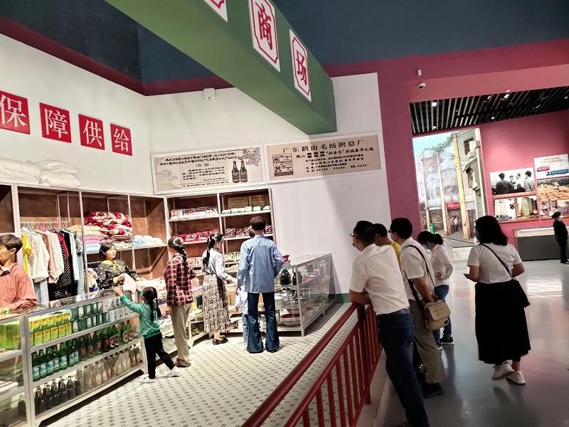 嘉友组织党支部参观深圳改革开放40周年展览 (2)