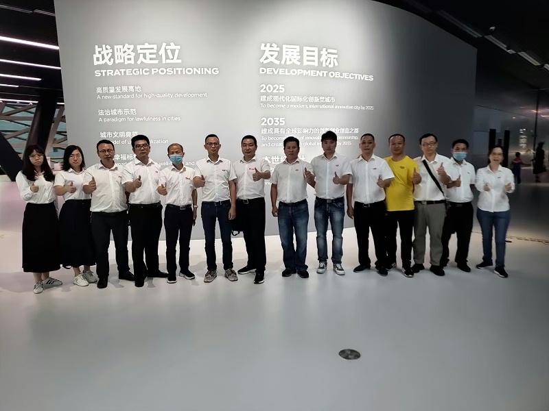 嘉友组织党支部参观深圳改革开放40周年展览