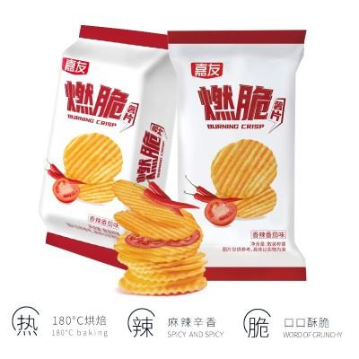 嘉友燃脆薯片—香辣番茄味