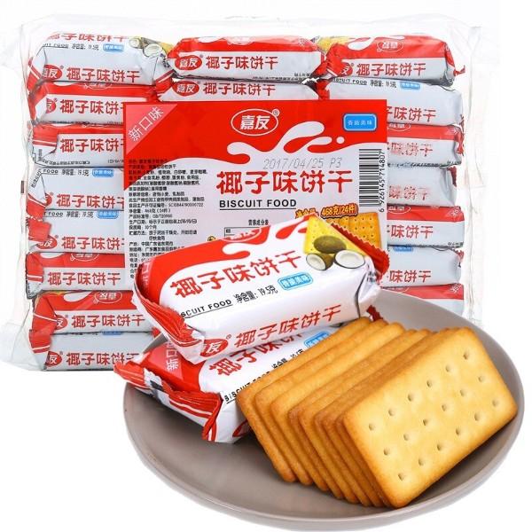 嘉友牛乳饼干椰子味468g