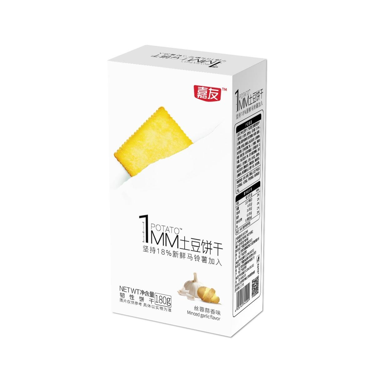 1MM薄饼丝蓉蒜香味