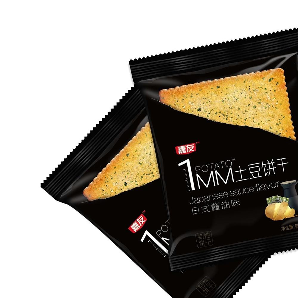 1MM日式酱油味土豆饼干