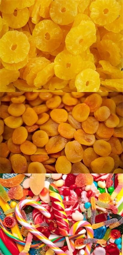 蜜饯、糖果、果脯