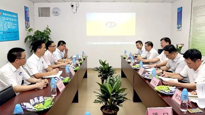 石碣镇委书记来访广东嘉友食品有限公司