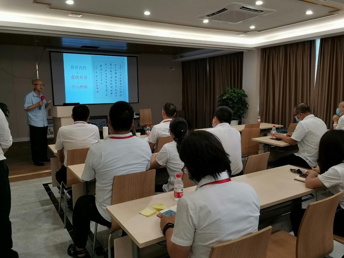 安天祥同志展开的健康知识讲座
