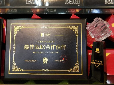 嘉友食品-2019年获得最佳战略合作奖