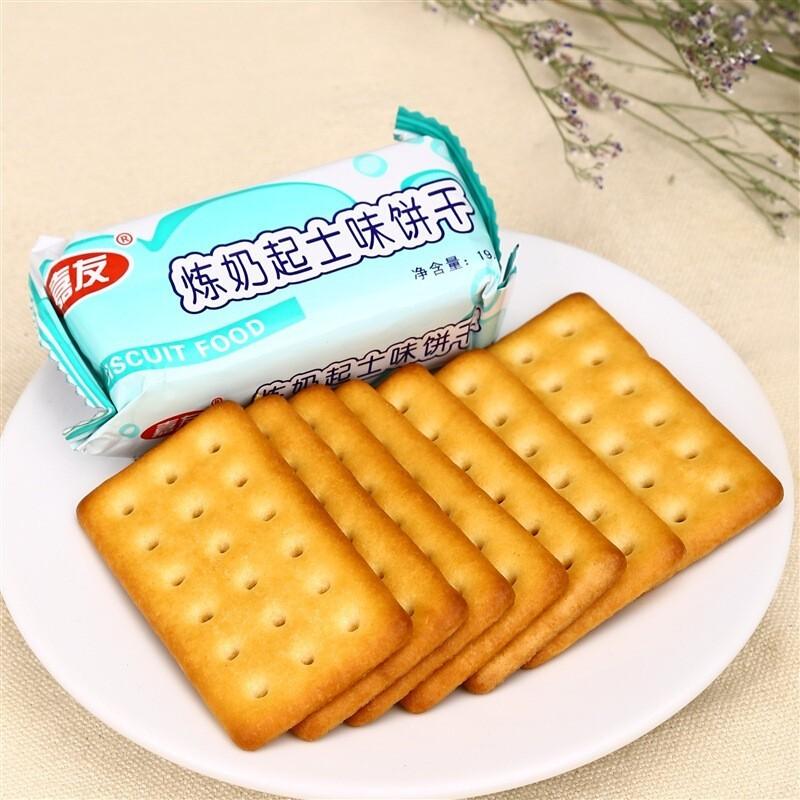 嘉友特鲜炼奶起士饼干120g
