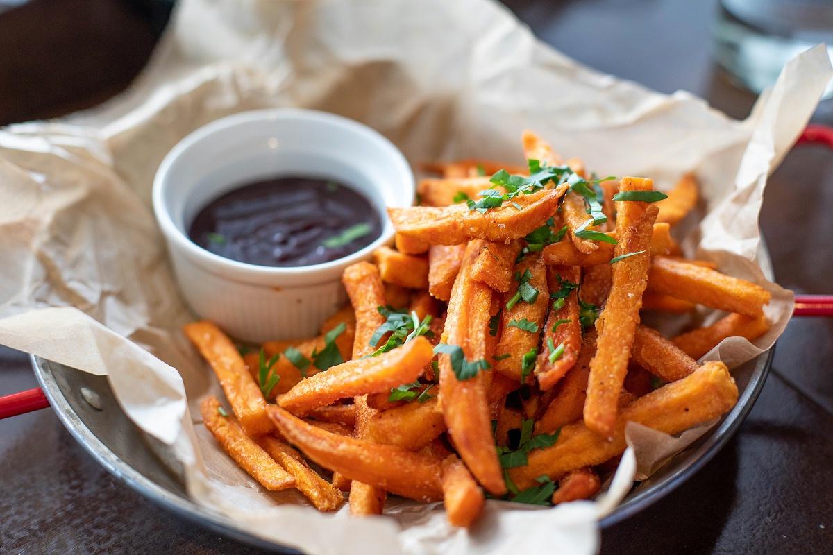 每周至少吃两次薯条